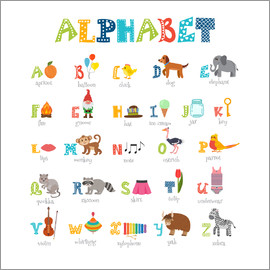 Typobox - Cheerful alphabet (English)