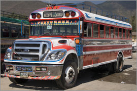 Richard Maschmeyer - Chicken bus, Antigua