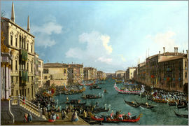 Antonio Canaletto - Grand Canal and Santa Maria della Salute