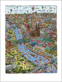 Cartoon City - Cartoon city koeln