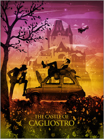 Albert Cagnef - Castle of Cagliostro Poster Lounge