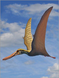Sergey Krasovskiy - Cearadactylus atrox, a large pterosaur from the Cretaceous Period.