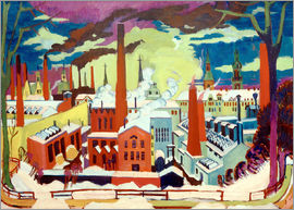 Ernst Ludwig Kirchner - Engine Works