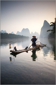 Matteo Colombo - Chinese fisherman on Li river - China