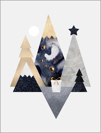 Elisabeth Fredriksson - Christmas Mountains