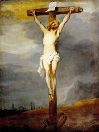 Anthonis van Dyck - Chris on the cross