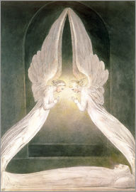 William Blake - Christ in the Sepulchre, Guarded by Angels