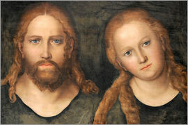 Lucas Cranach d.Ä. - Christ and Mary Magdalene