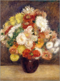 Pierre-Auguste Renoir - chrysanthemum bouquet