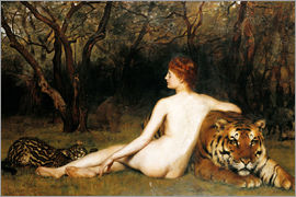 John Collier - Circe, 1885 (oil on canvas)