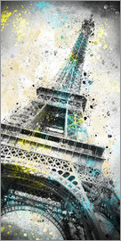 Melanie Viola - City Art PARIS Eiffeltower IV