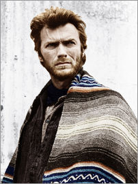 Clint Eastwood with a poncho