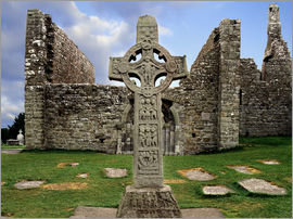 The Irish Image Collection - Clonmacnoise, Ireland
