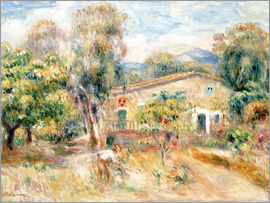 Pierre-Auguste Renoir - Collette's farmhouse, Cagnes