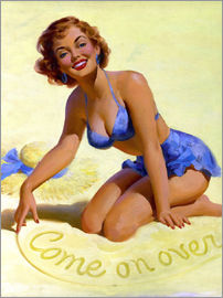 Art Frahm - Come On Over pinup