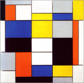 Piet Mondrian - Composition A / Painting