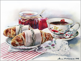 Maria Mishkareva - Crouissant with apple jam