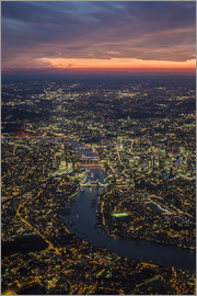 Ulrich Beinert - Dusk over London