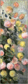 Claude Monet - Dahlias
