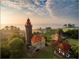 Dennis Stracke - Dahme Lighthouse Baltic Sea Aerial View