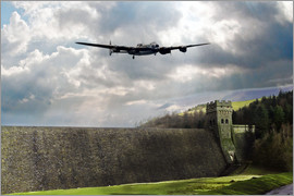 airpowerart - Dambusters at Derwent