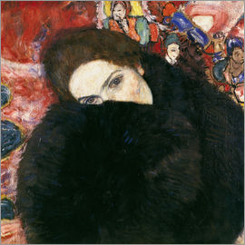 Gustav Klimt - Lady with Muff