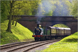 Neil Farrin - Steam train on Bluebell Railway