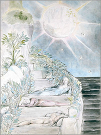 William Blake - Dante and Statius sleep