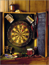 Simon Kayne - Darts board