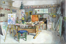 Carl Larsson - The Studio