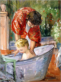 Henri Lebasque - The Bath (Le Bain)