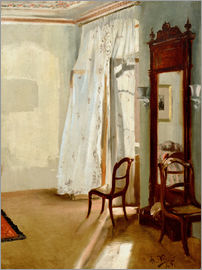 Adolph von Menzel - The Balcony Room