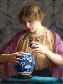 William McGregor Paxton - The Blue Jar