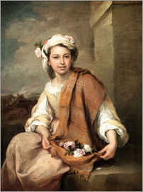 Bartolome Esteban Murillo - The Flower Girl