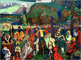 Wassily Kandinsky - Colourful Life