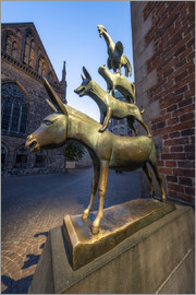 Jan Christopher Becke - The statue of the Bremen Town Musicians