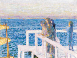 Pierre Bonnard - The dock in Cannes