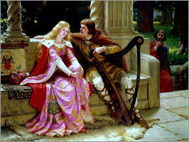 Edmund Blair Leighton - The End of the Song
