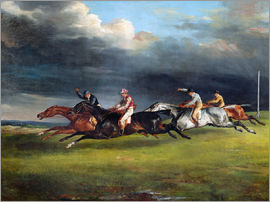 Theodore Gericault - The Epsom Derby