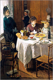 Claude Monet - The Breakfast