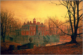 John Atkinson Grimshaw - The Haunted House