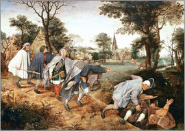 Pieter Brueghel d.Ä. - The parable of the blind
