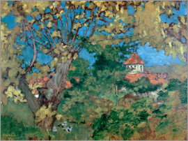 Pierre Bonnard - The House in Grand-Lemps