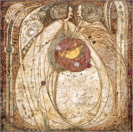 Margaret MacDonald Mackintosh - The heart of the rose