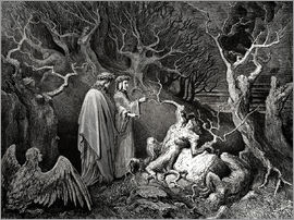 Gustave Doré - The Inferno, Canto 13