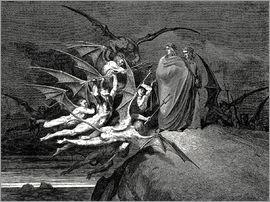 Gustave Doré - The Inferno, Canto 21
