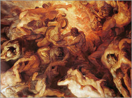 Peter Paul Rubens - Detail of the 'Small' Last Judgement