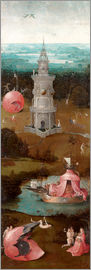 Hieronymus Bosch - The Last Judgement, the earthly paradise