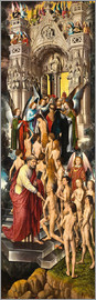 Hans Memling - The Last Judgement (left panel)