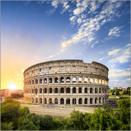 Jan Christopher Becke - The Colosseum in Rome, Italy